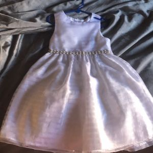 Other - Little girls white party dress